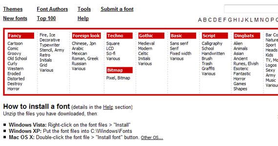 dafont-web-designer-tools-useful